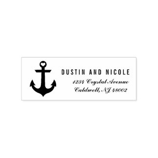 Custom Nautical Return Address Stamp