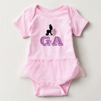 Custom Netball Player Position Themed Baby Baby Bodysuit