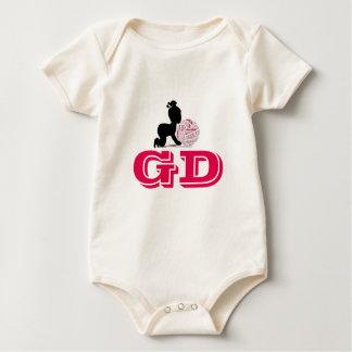 Custom Netball Player Position Themed Baby Bodysuit