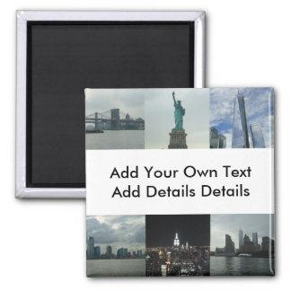Custom New York Manhattan Business Event Magnet