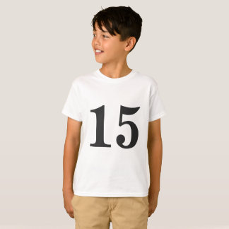 Custom Numbered T-shirt | Matching Family Shirts