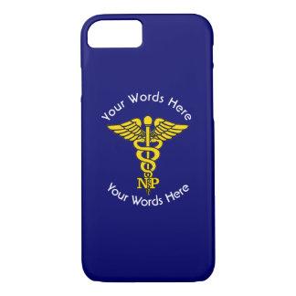 Custom Nurse Practitioner Caduceus iPhone 8/7 Case