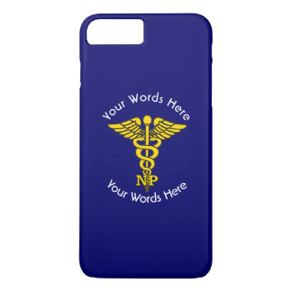 Custom Nurse Practitioner Caduceus iPhone 8 Plus/7 Plus Case