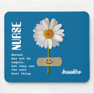 Custom Nurse's Name Gift Mousepad