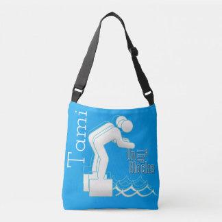 Custom On The Blocks Swim Cross over Body Bag
