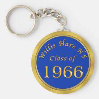 Custom Order Class Reunion Keychains YEAR, COLORS