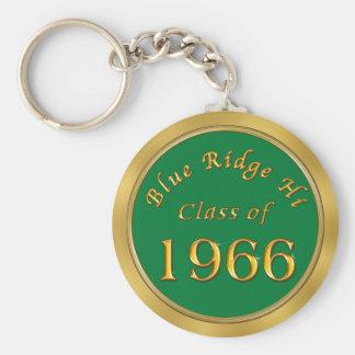 Custom Order Class Reunion Keychains Your School