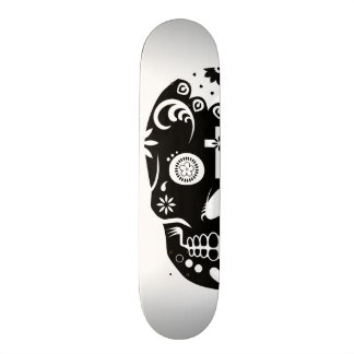 custom order sugar skullz 1 skate board