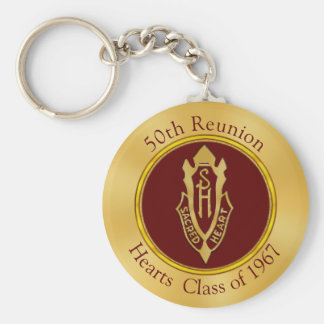Custom Order Your 50th Reunion Gifts Key Ring