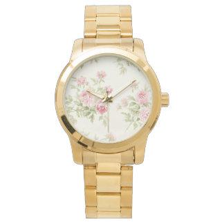 Custom Oversized Gold Bracelet Watch