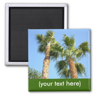Custom Palm Tree Magnet