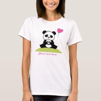 Custom Pandas hands showing love T-Shirt