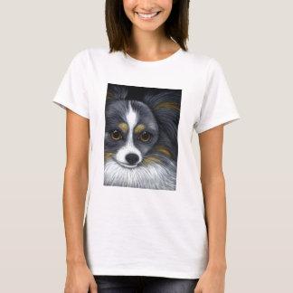 CUSTOM PAPILLON DOG T-Shirt