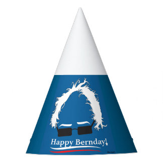 Custom Party Hat Bernie Sanders