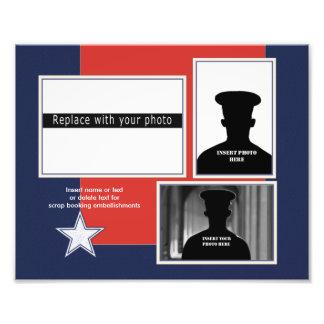 Custom Patriotic Photo Collage