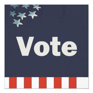 Custom Patriotic Vote Card