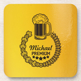 Custom Personal Beer Logo Coaster