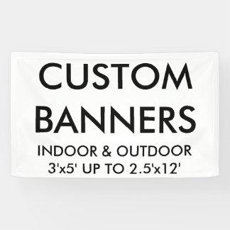 Custom Personalised 5'x3' Banner Blank Template