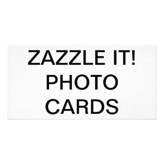 "Custom Personalised 8"" x 4"" Photo Card Blank"