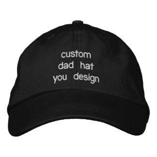 Custom Personalised Adjustable Dad Hats