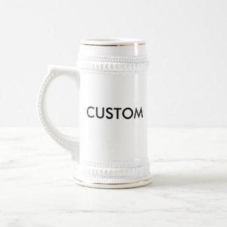 Custom Personalized Beer Stein Blank Template