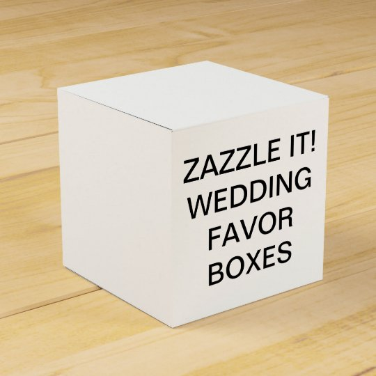 Custom Personalised Classic Wedding Favour Boxes