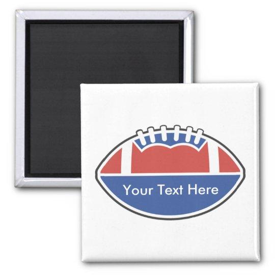 Custom Personalised Football Magnets
