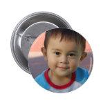 Custom Personalised Photo Badge