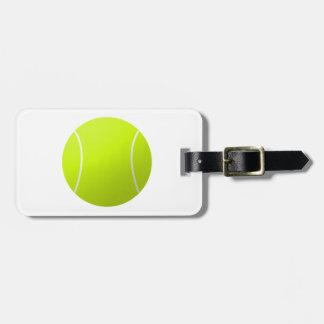 Custom Personalised Tennis Ball Gift Luggage Tag