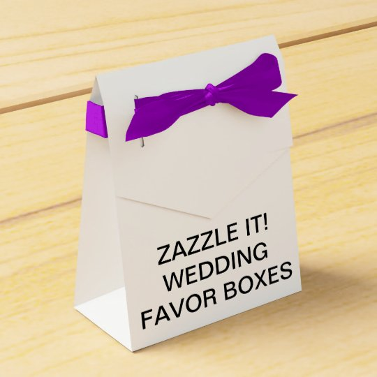 Custom Personalised Tent Wedding Favour Boxes