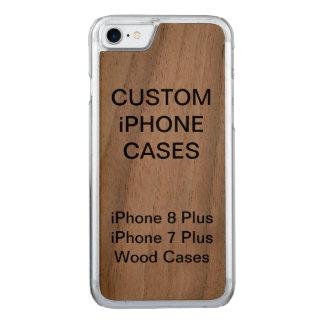 Custom Personalised Wood iPhone 8/7 Plus Case