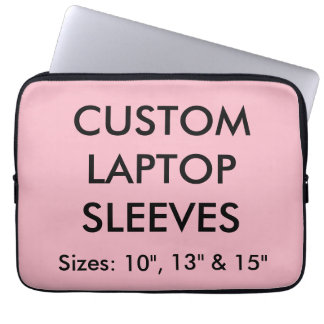"Custom Personalized 13"" Laptop or Mac Sleeve Blank"