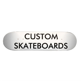 "Custom Personalized 7 7/8"" Comp Skateboard Deck"
