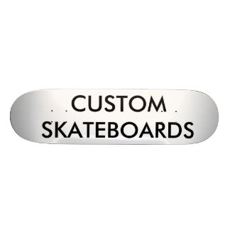 "Custom Personalized 8 1/8"" Comp Skateboard Deck"