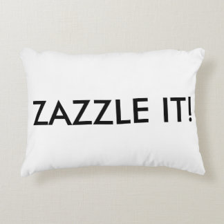 Custom Personalized Accent Pillow Blank Template