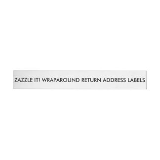 Custom Personalized Address Labels Blank Template