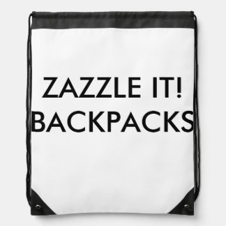 Custom Personalized Backpack Blank Template