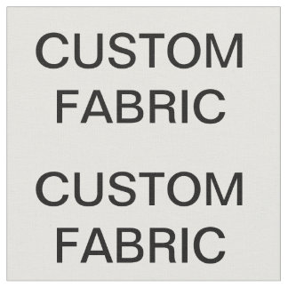 """Custom Personalized Combed Cotton Fabric 56"""" Wide"""