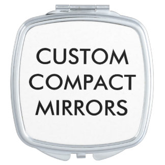 Custom Personalized Compact Mirror Blank Template