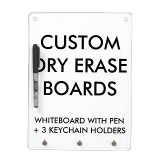 Custom Personalized Dry Erase Board Blank Template