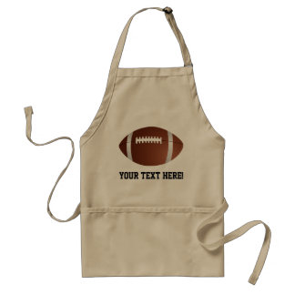 Custom Personalized Football Grill BBQ Tailgate Standard Apron