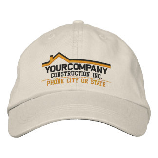 Custom Personalized for Your Construction Business Embroidered Cap