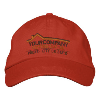 Custom Personalized for Your Construction Business Embroidered Hats