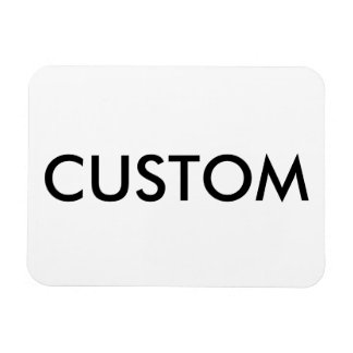 Custom Personalized Fridge Magnet Blank Template