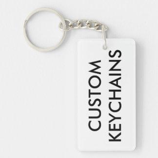 Custom Personalized Keychain Blank Template