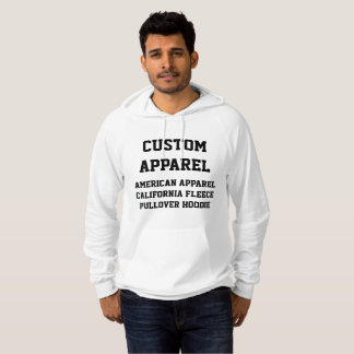Custom Personalized Men's PULLOVER HOODIE Template