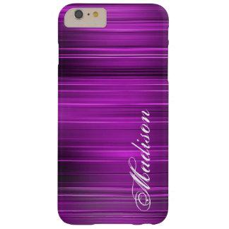 Custom Personalized Name Purple iPhone 6 Plus Case