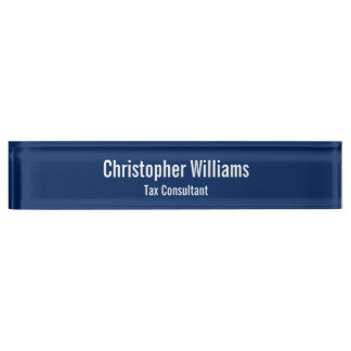 Custom Personalized Office Title Desk Name Plate