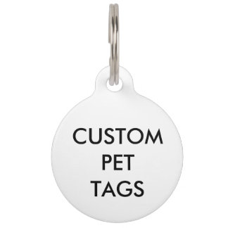 Custom Personalized Pet Cat Dog Tag Blank Template