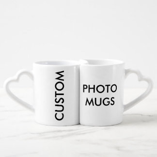 Custom Personalized Photo Lovers' Mugs Blank